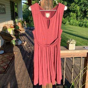 Maeve Burgundy Dress
